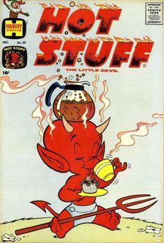 """Hot Stuff Vintage Comic - """"Multi-tasking"""""""