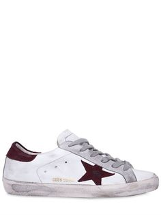 Golden Goose Deluxe Brand 10mm Super Star Leather & Suede Sneakers