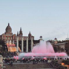 Font Màgica de Montjuïc. Barcelona (Catalunya - Catalonia)