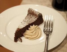 Chocolate & Chestnut Torte by Sabato