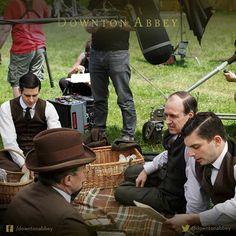Nothing beats a Downton picnic! #Downton #DowntonAbbey #BehindTheScenes #TheFinalSeries