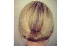 Bildresultat för håruppsättningar knut
