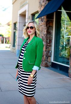 Maternity Fashion {Street Style Sweet Little Nursery Stylish Maternity, Maternity Wear, Maternity Fashion, Maternity Styles, Maternity Swimwear, Baby Bump Style, Mommy Style, Bb Style, Preppy Style