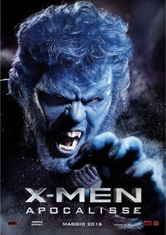 X-Men Apocalypse - Beast. Italian promo poster.