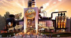 A Fantástica Fábrica de Chocolate no CityWalk da Universal Studios  Confira detalhes da mais nova atração do CityWalk no Universal Studios em http://www.viagemaorlando.com.br/fantastica-fabrica-de-chocolate-no-citywalk-do-universal/