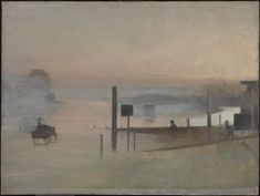 Victor Pasmore (1908-1998) - The Quiet River: The Thames at Chiswick', 1943-44