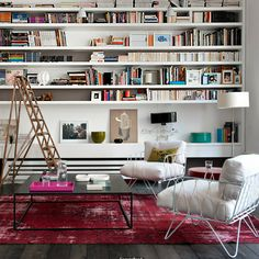 Beautiful bookshelves: Roseland Greene