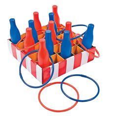Carnival Bottle Ring Toss Game - OrientalTrading.com