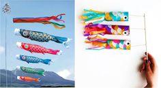 Existe una tradición preciosa en Japón el 5 de mayo, su Día de los niños varones. Ese día –las niñas celebran su día en otra fecha- miles de peces carpa ondean a los cuatro vientos en todo el país amarrados a las astas. Estas llamativas banderas llamadas koinobori se llenan de aire y se yerguen …