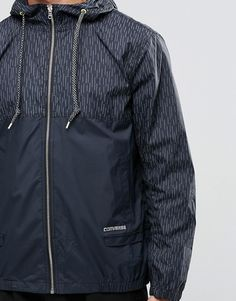 Shop Converse Windbreaker With Reflective Print In Black at ASOS. Order now with multiple payment and delivery options, including free and unlimited next day delivery (Ts&Cs apply). Mens Raincoat, Nike Jacket, Must Haves, Fashion Online, Latest Trends, Windbreaker, Asos, Converse, Jackets