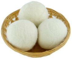 EveryDay Willow Set of 3 Organic Wool Dryer Ball Gift  Natural: http://www.amazon.com/EveryDay-Willow-Organic-Dryer-Natural/dp/B004QF0I1Q/?tag=headisstrandh-20