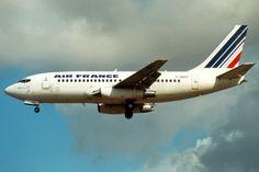 Air France, Boeing 737-200, F-GBYP, London Heathrow