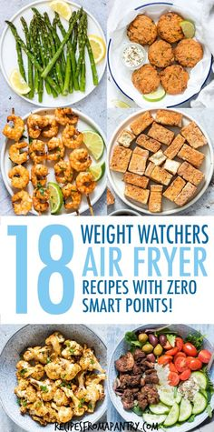 With the air fryer, you can enjoy delicious healthy, low calorie meals, sides and snacks! These weight watchers friendly Weight Watchers Snacks, Air Fryer Recipes Weight Watchers, Weight Watchers Meal Plans, Weight Watcher Dinners, Weight Watchers Recipes With Smartpoints, Weight Watchers Vegetarian, Weight Watchers Smart Points, Healthy Low Calorie Meals, Low Calorie Recipes
