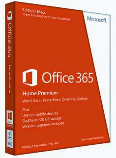 MS Office 365 Home Premium Free Download