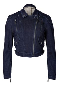 Burberry Brit Stretch Cotton Denim Kellow Jacket