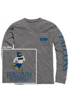 Product: Concordia University Wisconsin Falcons Long Sleeve T-Shirt $36.00