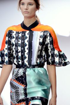 Peter Pilotto Spring 2013 RTW - Details - Fashion Week - Runway, Fashion Shows and Collections - Vogue