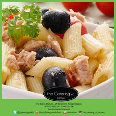 """""""#Penne with #tuna, #tomatoes & #olives"""" . Also available in our fasting menu.  #the_catering_co_kitchen http://www.thecateringcokitchen.com/"""
