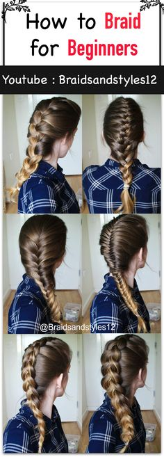 How to Braid your Own Hair for Beginners by Braidsandstyles12. Click the below…