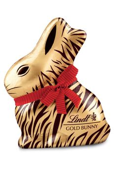 Lindt Gold Bunny In Animal Print – The iconic milk chocolate bunny is back – only this year, the delectable 7-ounce rabbit will be wrapped in golden animal print foil a tied with a red ribbon.Click through for the entire gallery and for more easter candy ideas.
