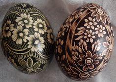 gorgeous pisanki - hand painted eggs