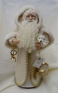 "USA-Made Limited Edition Hand-Sculpted 23"" Santa Claus by Diane Troutman"