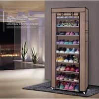 9 Grid Non-woven Fabrics Shoe Rack Organizer Removable Shoe Storage For Home Furniture Shoe Cabinet Fashionable Room Saving 50 Pair Shoe Rack, Shoe Rack With Shelf, Diy Shoe Rack, Shoe Shelves, Storage Shelves, Rack Shelf, Shoe Racks, Storage Ideas, Storage Pods