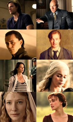 INFJ The Counselor >> Unsure about Loki, but I'm not complaining about any of them...