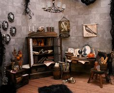 Witch Miniature Furnishings