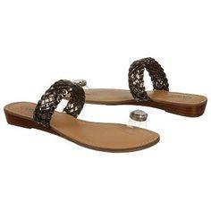 $48.99 CARLOS BY CARLOS SANTANA Turin Sandals Pewter Clear Women`s Sandals class