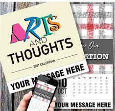 2021 Thoughtful Inspiration Wall Calendars low as Advertise your Business, Organization or Event all year. Calendar App, Print Calendar, Calendar Design, 2021 Calendar, Post Ad, Advertise Your Business, Free Advertising, Daily Activities, Inspiration Wall