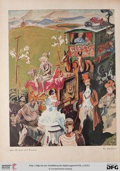 Ill. F. Heubner, Jugend: Münchner illustrierte Wochenschrift für Kunst und Leben — 31.1926, Band 1