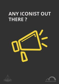 The #Iconist contest poster