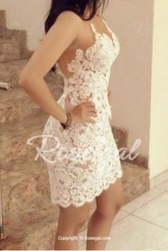 Stylish Strapless Openwork Bodycon Dress For Women