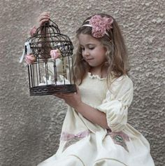 My Cinnamon Girl kjole bella off white Princess Outfits, My Princess, Little Princess, Bird Cages, Girl Falling, Love To Shop, Kid Styles, My Girl, Off White