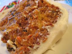 Easy, Peasy Carrot Cake