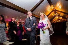father and bride walking down the aisle, i like the angle