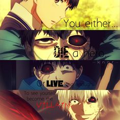 Anime: Tokyo Ghoul Quotes