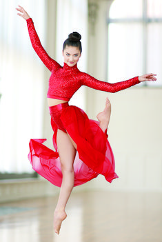 Put some pizzazz in your routine with the Sequin Performance Collection from Dancewear Solutions.