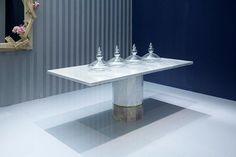 Mesa de comedor / moderna / de mármol / rectangular IVORY VALDERA EXPORT S.R.L.