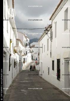 Calles, lugares, Mijas, pueblos