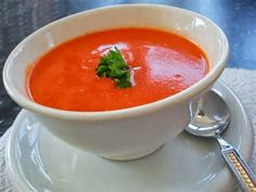 Trim Healthy Family: Light tomato soup-E or fuel pull