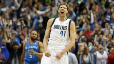 Nowitzki, Mavericks outlast Thunder for OT win in shootout | FOX Sports on MSN