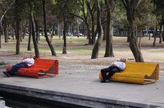 Benches, Bosque de Chapultepec