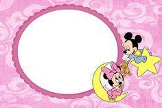 CHIARA - Molduras Digitais: Molduras, Máscaras, frames Baby Disney para Meninas