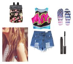 """""""summer♡♡♡:-P"""" by laurenciusz ❤ liked on Polyvore featuring Aéropostale, Madden Girl, Free People and Laura Mercier"""
