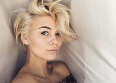 Blonde pixie                                                       …