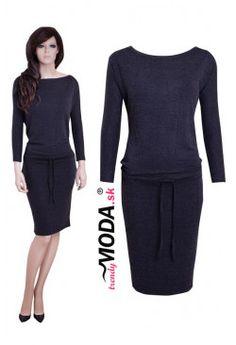 Úpletove šaty - TS53 Peplum Dress, Dresses For Work, Fashion, Moda, Fashion Styles, Fashion Illustrations, Peplum Dresses
