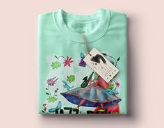 I designed a T-shirt for a contest organised by Jazz in the Park. It is about a cool festival, with jazz music and cultural activities in Cluj Napoca! Fun At Work, New Work, Shirt Designs, Behance, Gallery, Illustration, Check, T Shirt, Women