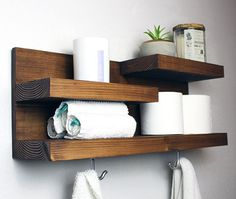 Farmhouse Furniture Bathroom Shelf Organizer Country Rustic The post Bathroom Shelf Organizer with Towel Hooks, Farmhouse Country Rustic Storage, Modern Farmhouse, Apartment Decor, Guest Storage appeared first on Best Pins for Yours - Bathroom Decoration Farmhouse Furniture, Rustic Furniture, Diy Furniture, Antique Furniture, Furniture Storage, Outdoor Furniture, Classic Furniture, Furniture Layout, Plywood Furniture